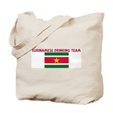 SURINAMESE DRINKING TEAM Tote Bag