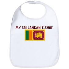 MY SRI LANKAN T-SHIRT Bib