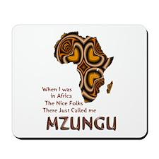 Mzungu - Mousepad