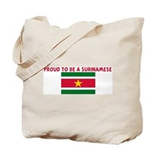 PROUD TO BE A SURINAMESE Tote Bag
