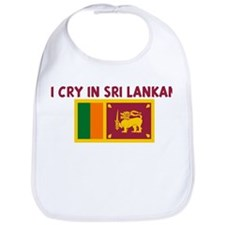 I CRY IN SRI LANKAN Bib