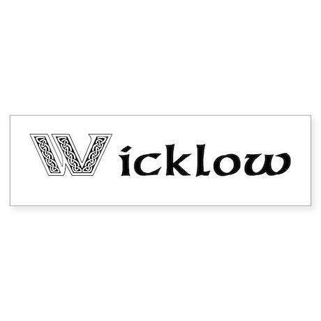Wicklow Bumper Sticker