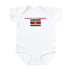 PROPERTY OF A SURINAMESE Infant Bodysuit