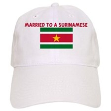MARRIED TO A SURINAMESE Baseball Cap