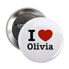 "I love Olivia 2.25"" Button"