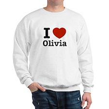 I love Olivia Sweatshirt