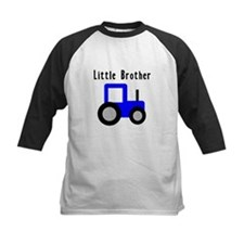 Little Brother Blue Tractor Tee