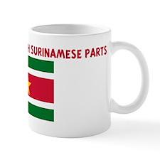 MADE IN AMERICA WITH SURINAME Mug