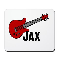Guitar - Jax Mousepad