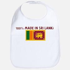 100 PERCENT MADE IN SRI LANKA Bib
