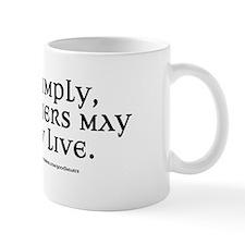 Live Simply Small Mug