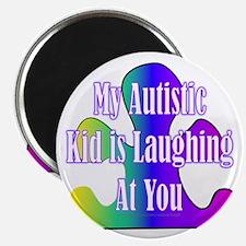 Autistic Laughing Magnet