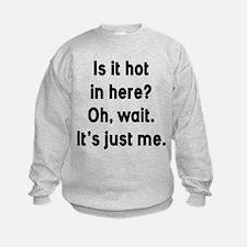 Is It Hot In Here Sweatshirt