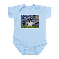 Starry Night / Sheltie (t) Infant Bodysuit