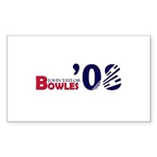 John Taylor Bowles 08 Rectangle Decal