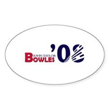 John Taylor Bowles 08 Oval Decal
