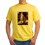 Accolade / 3 Shelties Yellow T-Shirt