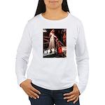 Accolade / 3 Shelties Women's Long Sleeve T-Shirt
