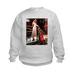 Accolade / 3 Shelties Kids Sweatshirt