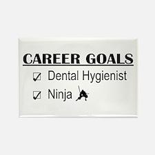 Dental Hygienist Career Goals Rectangle Magnet