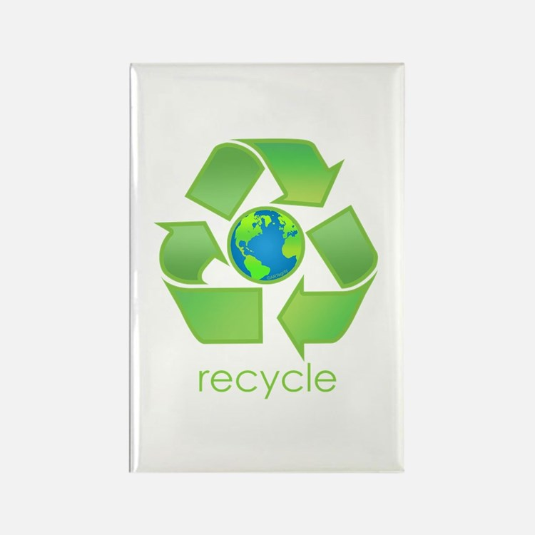 Recycle Rectangle Magnet