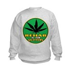 Rehab is for Quitters Kids Sweatshirt