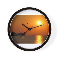 Egg Harbor - Door County Wall Clock