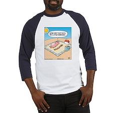 Pig Bacon Sunscreen Baseball Jersey