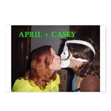 Funny Casey Postcards (Package of 8)
