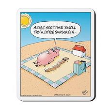 Pig Bacon Sunscreen Mousepad