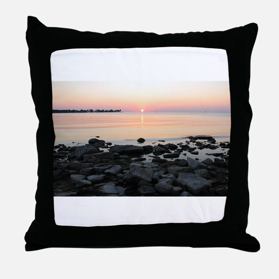 Door County - Egg Harbor 2 Throw Pillow