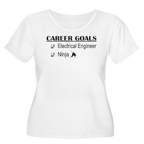 EE Career Goals Women's Plus Size Scoop Neck T-Shi