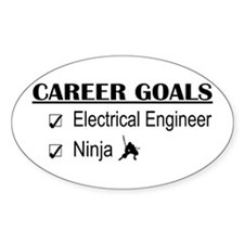 EE Career Goals Oval Decal