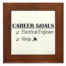 EE Career Goals Framed Tile