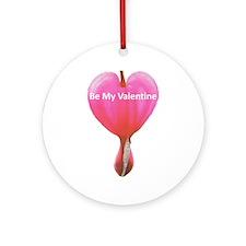 Bleeding Heart Valentine Ornament (Round)