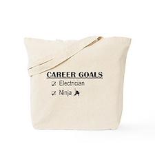 Electrician Career Goals Tote Bag