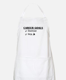 Electrician Career Goals BBQ Apron