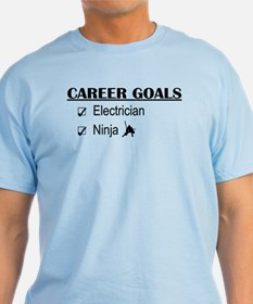 Electrician Career Goals T-Shirt