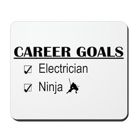 Electrician Career Goals Mousepad