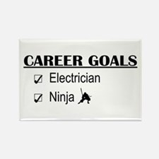 Electrician Career Goals Rectangle Magnet
