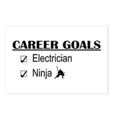 Electrician Career Goals Postcards (Package of 8)