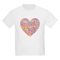 Conversation Valentine Heart T-Shirt