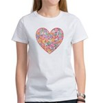 Conversation Valentine Heart Women's T-Shirt
