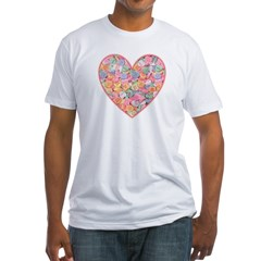 Conversation Valentine Heart Shirt