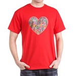 Conversation Valentine Heart Dark T-Shirt