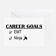 EMT Career Goals Greeting Cards (Pk of 10)