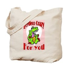 Zydeco Crazy For You Tote Bag