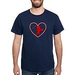 Be My Valentine Cupid Dark T-Shirt