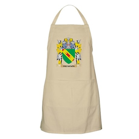 Frearson Coat of Arms - Family Crest Light Apron
