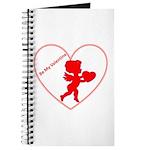 Be My Valentine Cupid Journal